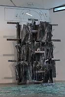 """Wiedereroeffnung des Juedischen Muesum in Berlin.<br /> Im Bild: Anselm Kiefers Kunstwerk """"Schewirat ha-Kelim"""" (Bruch der Gefaesse).<br /> 18.8.2020, Berlin<br /> Copyright: Christian-Ditsch.de<br /> NUR FUER REDAKTIONELLE ZWECKE! Werbung nur auf Anfrage beim Fotografen. [Inhaltsveraendernde Manipulation des Fotos nur nach ausdruecklicher Genehmigung des Fotografen. Vereinbarungen ueber Abtretung von Persoenlichkeitsrechten/Model Release der abgebildeten Person/Personen liegen nicht vor. NO MODEL RELEASE! Don't publish without copyright Christian-Ditsch.de, Veroeffentlichung nur mit Fotografennennung, sowie gegen Honorar, MwSt. und Beleg. Konto: I N G - D i B a, IBAN DE58500105175400192269, BIC INGDDEFFXXX, Kontakt: post@christian-ditsch.de<br /> Bei der Bearbeitung der Dateiinformationen darf die Urheberkennzeichnung in den EXIF- und  IPTC-Daten nicht entfernt werden, diese sind in digitalen Medien nach §95c UrhG rechtlich geschuetzt. Der Urhebervermerk wird gemaess §13 UrhG verlangt.]"""