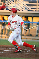August 31st, 2007:  Jonathan Edwards of the Batavia Muckdogs, Short-Season Class-A affiliate of the St. Louis Cardinals at Dwyer Stadium in Batavia, NY.  Photo by:  Mike Janes/Four Seam Images