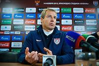 Krasnodar - Russia, Tuesday, November 13, 2012: The USMNT ties Russia 2-2 at Kuban Stadium.