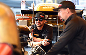 NHRA Mello Yello Drag Racing Series<br /> Chevrolet Performance U.S. Nationals<br /> Lucas Oil Raceway, Indianapolis, IN USA<br /> Monday 4 September 2017, J.R. Todd, DHL, Funny Car, ©2017 World Copyright: Will Lester Photography