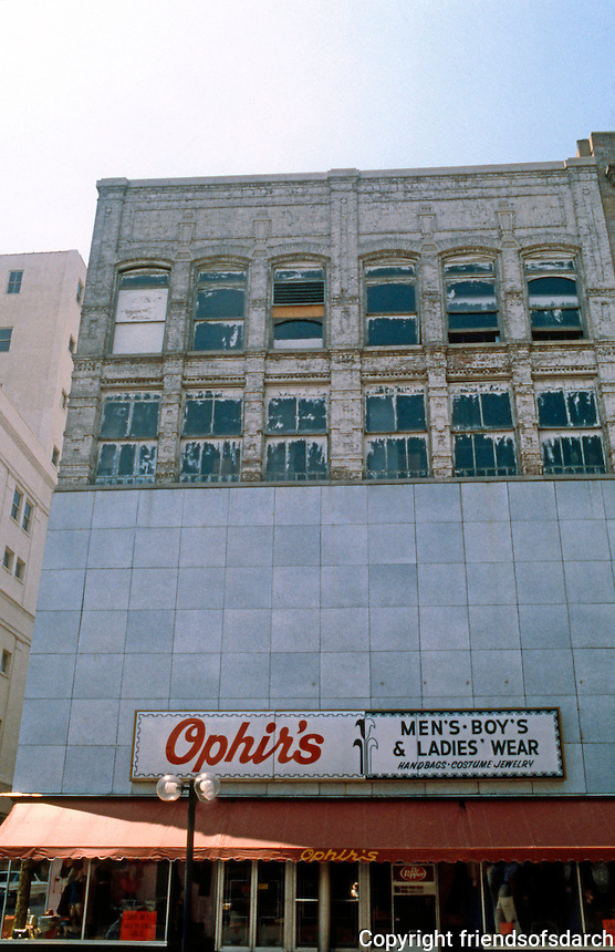 Memphis:  Old building, improved facade.