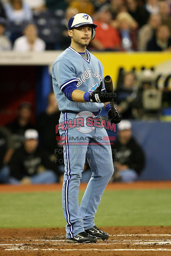 May 23rd 2008:  Infielder Marco Scutaro (19) of the Toronto Blue Jays during a game at the Rogers Centre in Toronto, Ontario, Canada .  Photo by:  Mike Janes/Four Seam Images