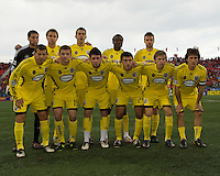 2 May 2009: Columbus Crew starting eleven at BMO Field in Toronto in a  game between the Columbus Crew and Toronto FC..The game ended in a 1-1 draw.