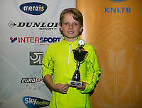 01-12-13,Netherlands, Almere,  National Tennis Center, Tennis, Winter Youth Circuit, Boys 16 years ,4 th place :  Jasper de Jong<br /> Photo: Henk Koster