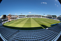 A general view of Lords during Middlesex CCC vs Gloucestershire CCC, LV Insurance County Championship Group 2 Cricket at Lord's Cricket Ground on 7th May 2021