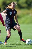 Carson, California - Sunday April 15, 2012: USA Women's National Team U-20 vs. China Friendly match on Glenn 'Mooch' Myernick field.