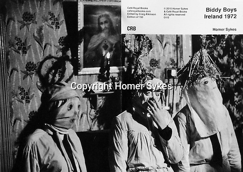 Biddy Boys Ireland 1972.<br /> <br /> PhotoZine published by Cafe Royal Books. 2nd edition. Published in 2015. 36 pages, staple bound, A5. £10-00 including p&p in UK. <br /> <br /> Eire, sorry but £16-00. Email for details, Contact at bottom and top of each website page. Thanks.