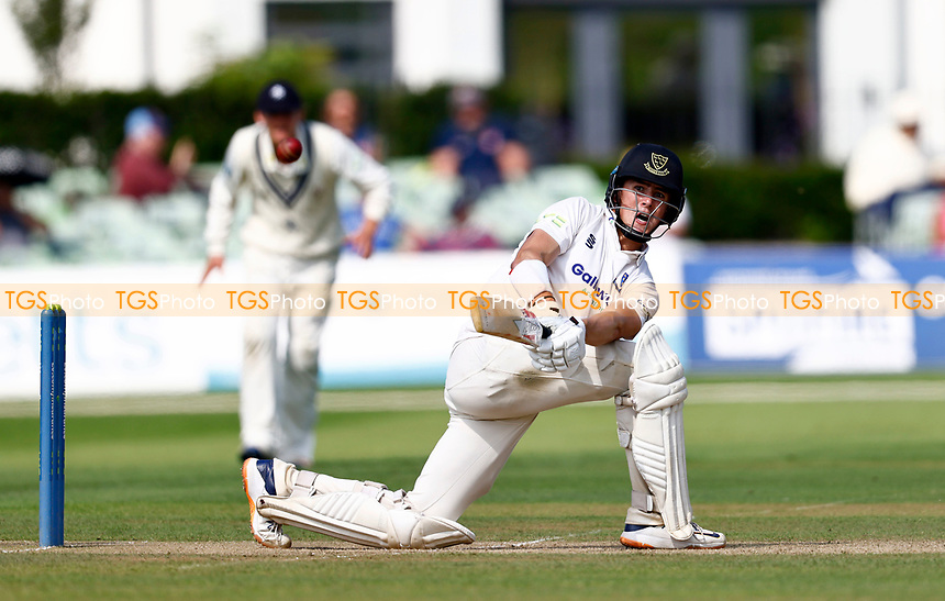 Ali Orr hits out for Kent during Kent CCC vs Sussex CCC, LV Insurance County Championship Group 3 Cricket at The Spitfire Ground on 13th July 2021