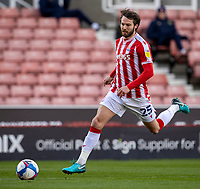 5th April 2021; Bet365 Stadium, Stoke, Staffordshire, England; English Football League Championship Football, Stoke City versus Millwall; Nick Powell of Stoke City chases a loose ball