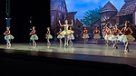 """Space & Tech Rehearsal of """"Spring Works"""" by Cary Ballet Company. Cary Arts Center, Tuesday, 13 March 2019"""