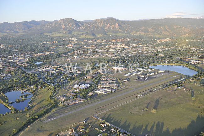 Boulder, Colorado airport. May 2012