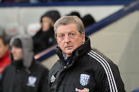 Pictured: Roy Hodgson, manage for West Bromwich Albion. Saturday, 04 February 2012<br /> Re: Premier League football, West Bromwich Albion v Swansea City FC v at the Hawthorns Stadium, Birmingham, West Midlands.