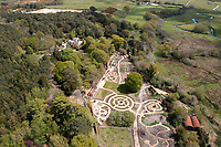 BNPS.co.uk (01202) 558833. <br /> Pic: CorinMesser/BNPS<br /> <br /> Carey Secret Garden.<br /> <br /> The new owners of a historic country estate have discovered an overgrown secret garden that had lain untouched and forgotten for more than 40 years.<br /> Simon Constantine was astounded when he and his children went off exploring the grounds of Carey House near Wareham, Dorset, and found the 'lost' walled garden behind a padlocked gate.<br /> The 3.5 acre plot was built 140 years ago and would have at one stage served both the estate and the wider community with fresh fruit, vegetables and cut flowers back in the day.