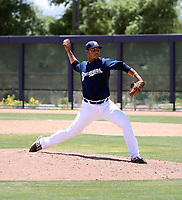Joel Pinto - Milwaukee Brewers 2019 extended spring training (Bill Mitchell)