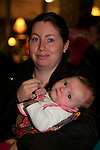 Yvonne Franciis Meave NÍ Éligh at the Mumstown coffee morning.<br /> Picture: Fran Caffrey www.newsfile.ie