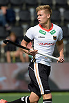 NED - Amsterdam, Netherlands, August 20: During the men Pool B group match between Germany (white) and Ireland (green) at the Rabo EuroHockey Championships 2017 August 20, 2017 at Wagener Stadium in Amsterdam, Netherlands. Final score 1-1. (Photo by Dirk Markgraf / www.265-images.com) *** Local caption *** Julias Meyer #8 of Germany