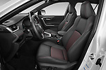 Front seat view of 2021 Toyota RAV4-Hybride-Rechargeable Premium-Plus 5 Door SUV Front Seat  car photos