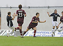 13/09/2008  Copyright Pic: James Stewart.File Name : sct_jspa06_falkirk_v_hearts.SCOTT ARFIELD SCORES FALKIRK'S SECOND.James Stewart Photo Agency 19 Carronlea Drive, Falkirk. FK2 8DN      Vat Reg No. 607 6932 25.James Stewart Photo Agency 19 Carronlea Drive, Falkirk. FK2 8DN      Vat Reg No. 607 6932 25.Studio      : +44 (0)1324 611191 .Mobile      : +44 (0)7721 416997.E-mail  :  jim@jspa.co.uk.If you require further information then contact Jim Stewart on any of the numbers above........