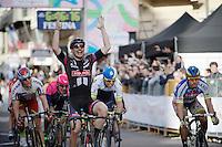 John Degenkolb (DEU/Giant-Alpecin) victoriously on the Via Roma<br /> <br /> 106th Milano - San Remo 2015