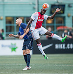 Ajax All Stars vs HKFC Chairman's Select during the Masters of the HKFC Citi Soccer Sevens on 21 May 2016 in the Hong Kong Footbal Club, Hong Kong, China. Photo by Lim Weixiang / Power Sport Images