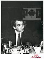 Peter Blaikie<br /> , 26 Jan 1979<br /> <br /> PHOTO : Agence Quebec Presse