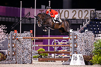 BEL-Jerome Guery rides Quel Home de Hus during the Jumping Individual Final. Tokyo 2020 Olympic Games. Wednesday 4 August 2021. Copyright Photo: Libby Law Photography