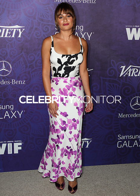 WEST HOLLYWOOD, CA, USA - AUGUST 23: Actress Lea Michele arrives at the Variety And Women In Film Annual Pre-Emmy Celebration 2014 held at Gracias Madre on August 23, 2014 in West Hollywood, California, United States. (Photo by Celebrity Monitor)
