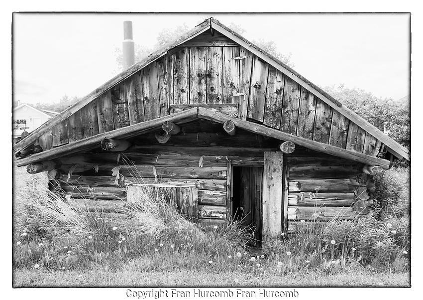 Atlin log cabin