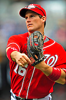 24 May 2009: Washington Nationals' outfielder Josh Willingham warms up prior to a game against the Baltimore Orioles at Nationals Park in Washington, DC. The Nationals rallied to defeat the Orioles 8-5 and salvage one win of their interleague series. Mandatory Credit: Ed Wolfstein Photo
