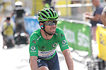 Green Jersey Mark Cavendish (GBR) Deceuninck-Quick Step crosses the finish line at the end of Stage 15 of the 2021 Tour de France, running 191.3km from Céret to Andorre-La-Vieille, Andorra. 11th July 2021.  <br /> Picture: Colin Flockton | Cyclefile<br /> <br /> All photos usage must carry mandatory copyright credit (© Cyclefile | Colin Flockton)