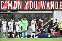 30th December 2020; Bankwest Stadium, Parramatta, New South Wales, Australia; A League Football, Western Sydney Wanderers versus Macarthur FC; Macarthur take to the field for their first A-League game