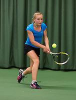 17-03-13, Rotterdam, Tennis, NOJK, Juniors 14-18 years, Isolde de Jong  Annick Melgers