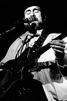 Montreal (QC) CANADA - 1983  File Photo  -  - Roy Buchanan in concert at Club SodaMontreal (QC) CANADA - April 16 , 1983  File Photo    - Roy Buchanan in concert at Club Soda