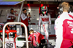 Alfa Romeo Racing ORLEN, Antonio Giovinazzi, takes part in the tests for the new Formula One Grand Prix season at the Circuit de Catalunya in Montmelo, Barcelona. February 19, 2020 (ALTERPHOTOS/Javier Martínez de la Puente)