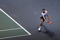 Rotterdam, The Netherlands, 12 Februari 2020, ABNAMRO World Tennis Tournament, Ahoy, Gilles Simon (FRA).<br /> Photo: www.tennisimages.com
