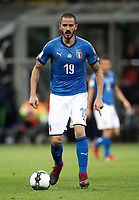 Soccer Football - 2018 World Cup Qualifications - Europe - Italy vs Sweden - San Siro, Milan, Italy - November 13, 2017 <br /> Italy's Leonardo Bonucci in action during the FIFA World Cup 2018 qualification football match between Italy and Sweden at the San Siro Stadium in Milan on November 13, 2017.<br /> UPDATE IMAGES PRESS/Isabella Bonotto