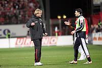 Trainer J¸rgen Klopp (FSV Mainz 05) freut sich