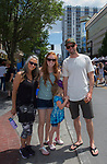 The Nelson family during the 24th Annual Great Eldorado Brews and Blues Festival in Reno, Nevada on Saturday, June 15, 2019.