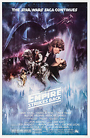 BNPS.co.uk (01202 558833)<br /> Pic: ProfilesInHistory/BNPS<br />  <br /> Movie poster for The Empire Strikes Back featuring the sinister mask.<br /> <br /> Dark side steps into the light - Vader helmet sells for an astonishing £915,000.<br /> <br /> The black mask and helmet worn by Darth Vader in The Empire Strikes Back sold at auction last night.<br /> <br /> The distinctive screen-used headpiece was worn by British actor David Prowse in the 1980 Star Wars movie.<br /> <br /> US auction house Profiles in History described it as the 'Holy Grail' of science fiction artefacts.