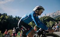 Fabio Felline (ITA/Trek-Segafredo)<br /> <br /> MEN ELITE INDIVIDUAL TIME TRIAL<br /> Hall-Wattens to Innsbruck: 52.5 km<br /> <br /> UCI 2018 Road World Championships<br /> Innsbruck - Tirol / Austria