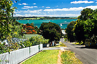 Streets of Russell - Bay of Islands, Northland, New Zealand