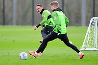 Connor Roberts of Swansea City in action during the Swansea City Training at The Fairwood Training Ground in Swansea, Wales, UK.  Wednesday 08 January 2020