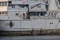 France, Bretagne, (29), Finistère, Brest:   Base Navale et Arsenal de Brest,  Remorqueur de haute mer