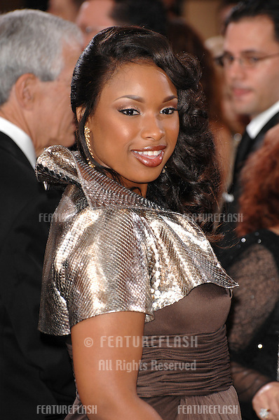 Jennifer Hudson at the 79th Annual Academy Awards at the Kodak Theatre, Hollywood..February 26, 2007  Los Angeles, CA.Picture: Paul Smith / Featureflash