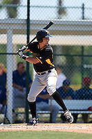 Pittsburgh Pirates Sam Kennelly (95) during a minor league spring training game against the Toronto Blue Jays on March 21, 2015 at Pirate City in Bradenton, Florida.  (Mike Janes/Four Seam Images)