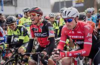a relaxed Greg Van Avermaet (BEL/BMC) on the start grid<br /> <br /> 60th E3 Harelbeke (1.UWT)<br /> 1day race: Harelbeke › Harelbeke - BEL (206km)