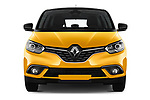 Car photography straight front view of a 2017 Renault Scenic Intens 5 Door Minivan Front View