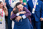 LOUISVILLE, KY - MAY 06: Always Dreaming connections celebrate in winners circle after winning the 143rd Kentuckt Derby on Kentucky Derby Day at Churchill Downs on May 6, 2017 in Louisville, Kentucky. (Photo by Sue Kawczynski/Eclipse Sportswire/Getty Images)