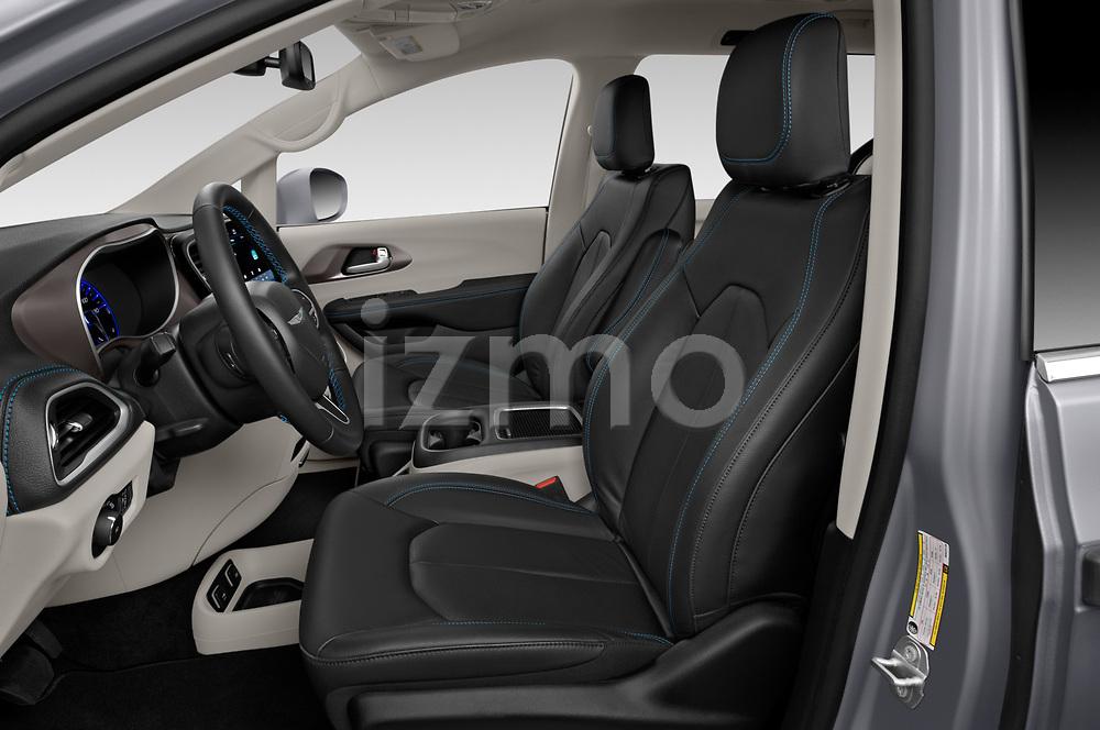Front seat view of a 2021 Chrysler Pacifica Touring-L 5 Door Mini Van