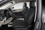Front seat view of 2021 Chrysler Pacifica Touring-L 5 Door Minivan Front Seat  car photos